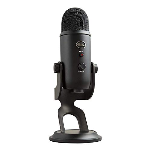 Blue Yeti USB Microphone for Recording, Streaming,...