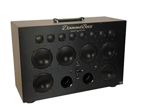 DiamondBoxx Model XL2 Black - The Biggest Bass in...