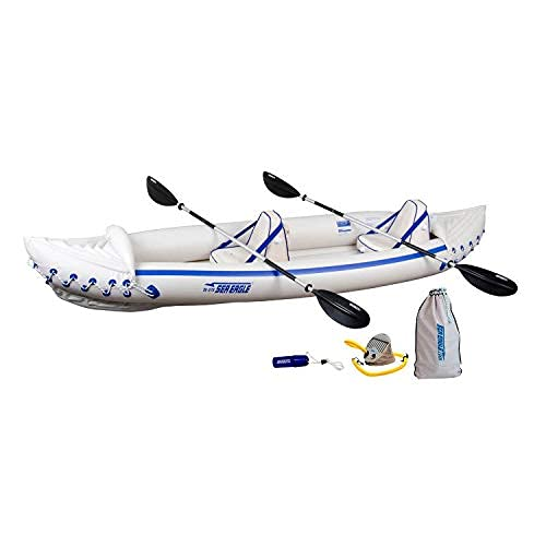 Sea Eagle 370 Pro 3 Person Inflatable Portable...