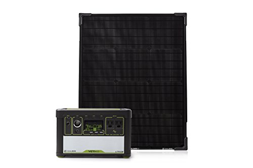 Goal Zero Yeti 400 Lithium Solar Generator Kit...