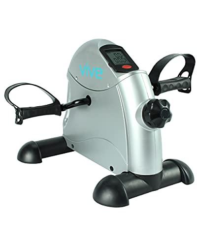 Vive Pedal Exerciser - Stationary Exercise Leg...