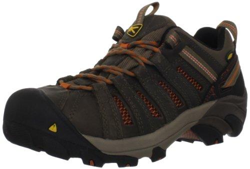 KEEN Utility Men's Flint Low Steel Toe Work Shoe,...