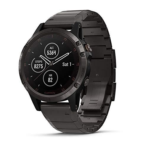 Garmin fenix 5 Plus, Premium Multisport GPS...
