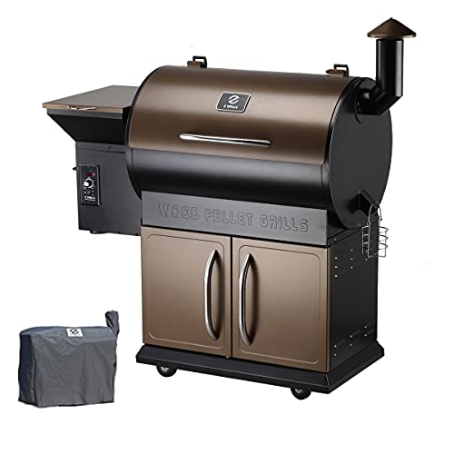Z Grills Wood Pellet Grill Smoker with 2020 Newest...