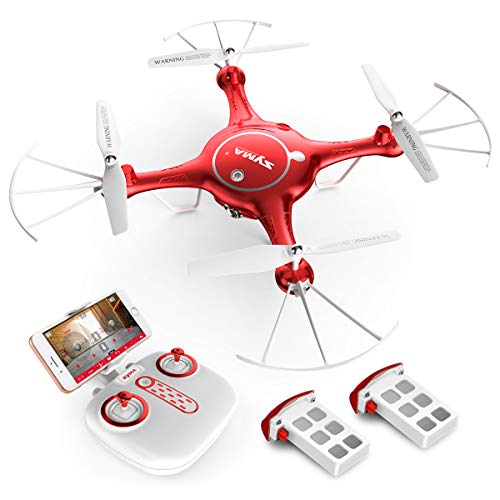 Syma X21W Mini RC Drone with Camera...