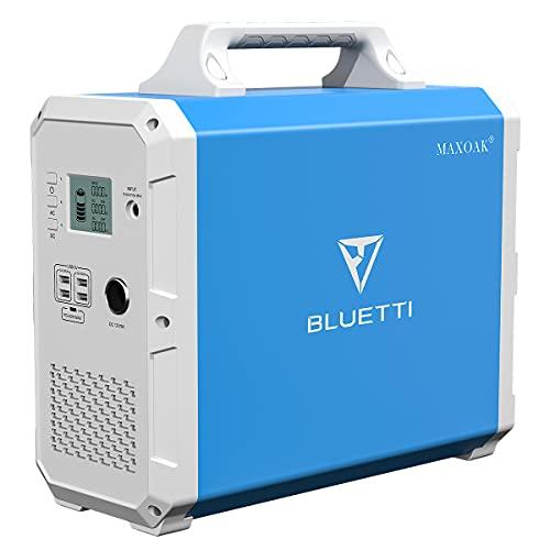 MAXOAK Portable Power Station BLUETTI EB150 1500Wh...
