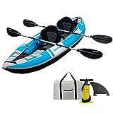 Driftsun Voyager 2 Person Tandem Inflatable Kayak,...