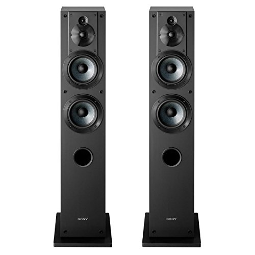 Sony SS-CS3 3-Way 4-Driver Floor-Standing Speaker...