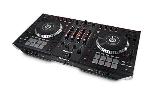 Numark NS7II 4-Channel Motorized DJ Controller and...