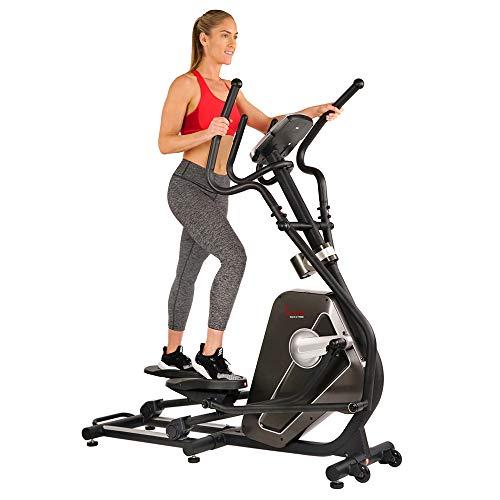 Sunny Health & Fitness Magnetic Elliptical Trainer...