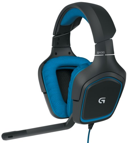 Logitech 981-000536 G430 7.1 Gaming Headset with...