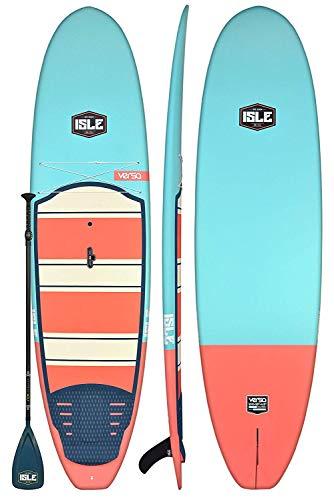 ISLE Versa Rigid Stand Up Paddle Board & SUP...