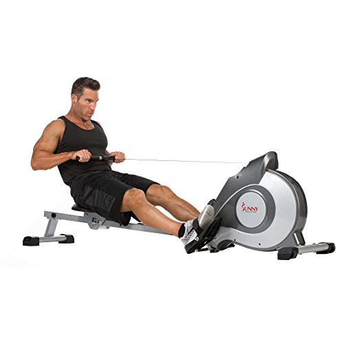 Sunny Health & Fitness SF-RW5515 Magnetic Rowing...