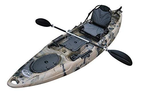 BKC RA220 11.5-Foot Solo Sit on Top Angler Fishing...