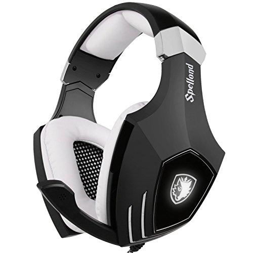 USB Gaming Headset-SADES A60/OMG Computer Over Ear...