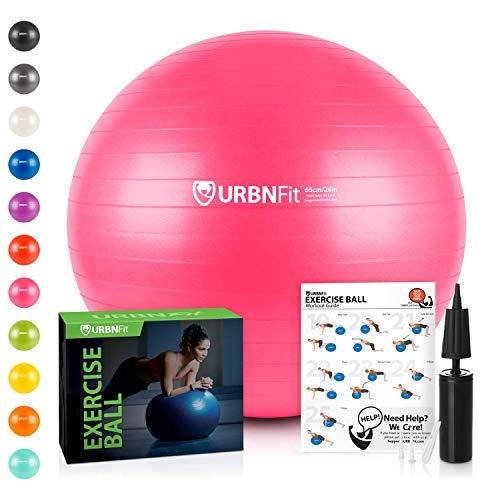 URBNFit Exercise Ball (55 cm) for...