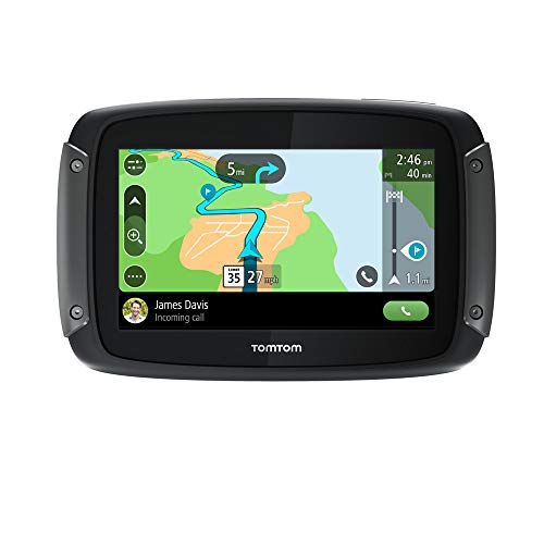 TomTom Rider 550 Motorcycle GPS Navigation Device,...