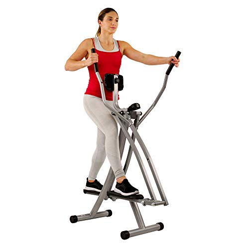 Sunny Health & Fitness SF-E902 Air Walk Trainer...