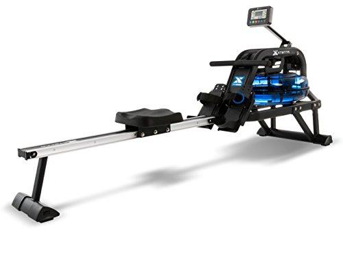 XTERRA Fitness ERG600W Water Rowing Machine, Black