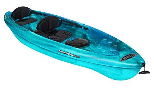 Pelican Tandem Recreational Kayak | River Gorge...
