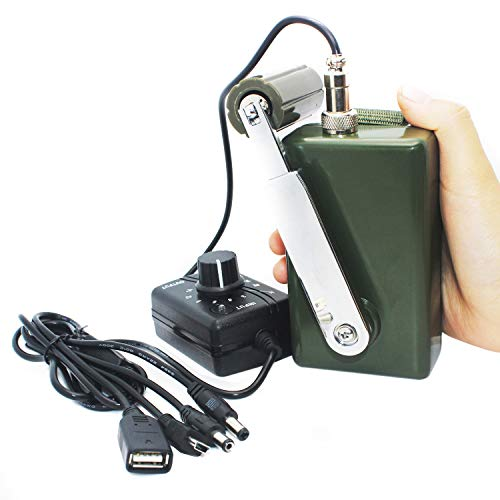 Hand Crank Generator High Power Charger for...