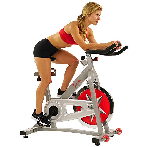 Sunny Health & Fitness SF-B901 Pro Indoor Cycling...