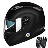 Motorcycle Bluetooth Helmets,FreedConn Flip up...
