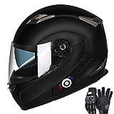 Motorcycle Bluetooth Helmets,FreedConn Flip up...