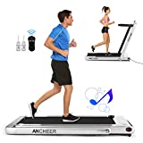 ANCHEER Folding Treadmill, Under Desk Smart...