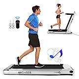 ANCHEER Folding Treadmill, Under Desk Smart...
