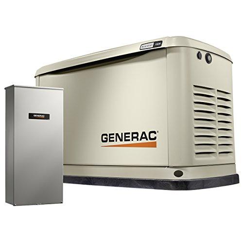 Generac 7032 Air-Cooled Standby Generator,...