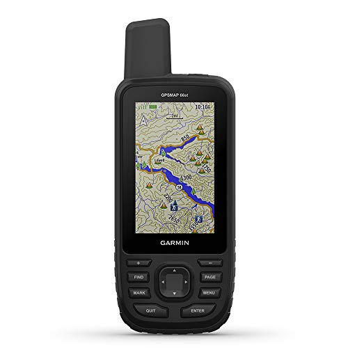 Garmin GPSMAP 66st, Rugged Multisatellite Handheld...