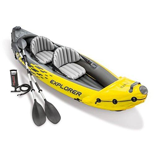 Intex Explorer K2 Kayak, 2-Person Inflatable Kayak...