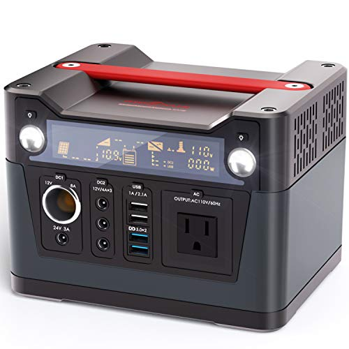 ROCKPALS 300W Portable Power Station, 280Wh CPAP...