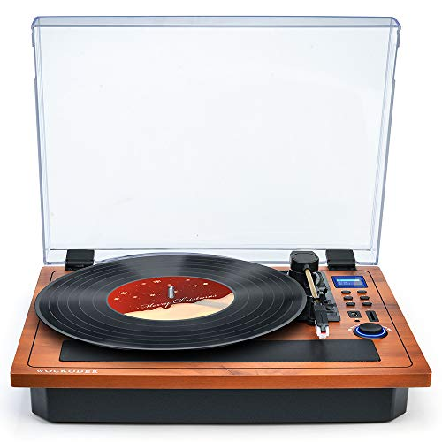 Turntable Vinyl Record Player...