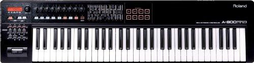 Roland A-800PRO-R 61-key MIDI Keyboard Controller,...