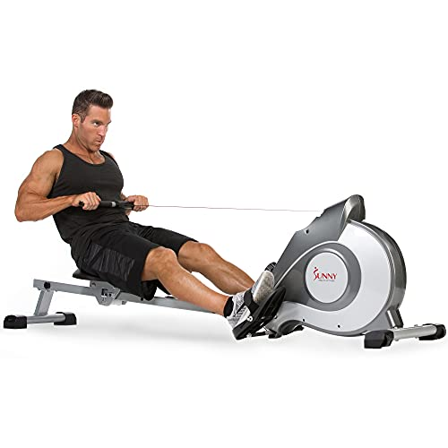 Sunny Health & Fitness Magnetic Rowing Machine...