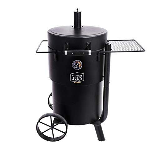 Oklahoma Joe's 19202089 Barrel Drum Smoker, Black