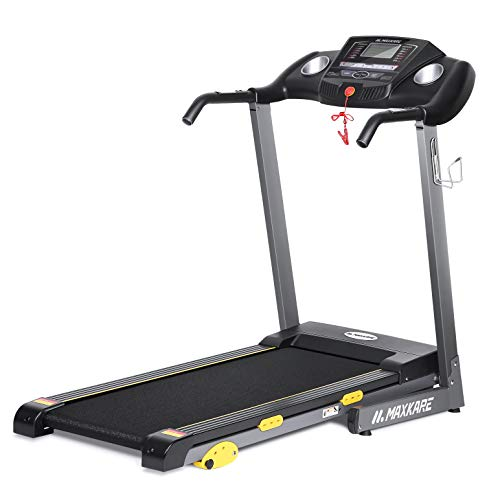 MaxKare Folding Treadmill Electric...