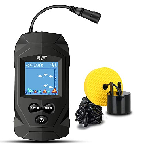 LUCKY Portable Fish Finders Wired...