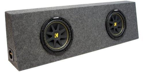 ASC Package Dual 12' Kicker Sub Box...