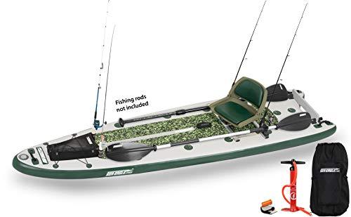Sea Eagle FishSUP 126 Inflatable FishSUP - Swivel...