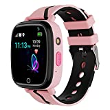 Kids Smart Watch GPS Tracker - Waterproof GPS...
