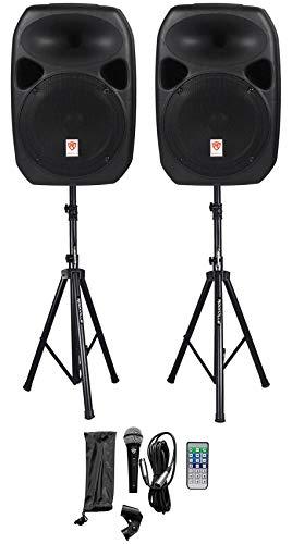 Rockville RPG122K Dual 12' Powered Speakers,...
