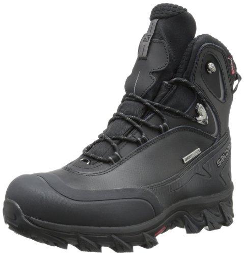 Salomon Men's Anka CS Waterproof Snow Boot,Black,8...