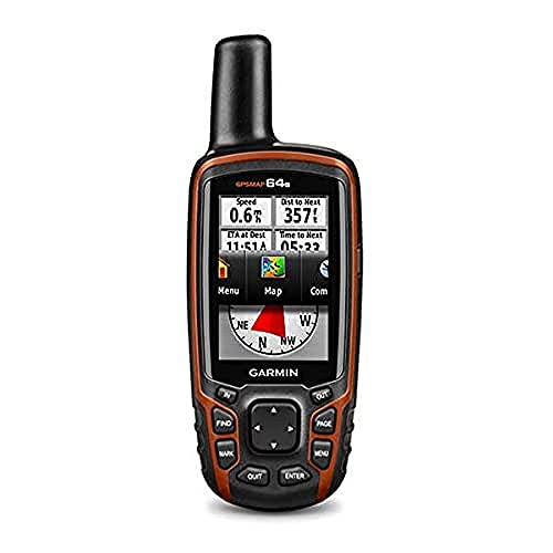Garmin GPSMAP 64s Worldwide with High-Sensitivity...