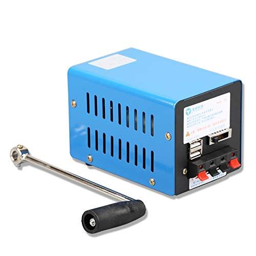 ZXMT Portable Crank Generator, Multifunction Hand...