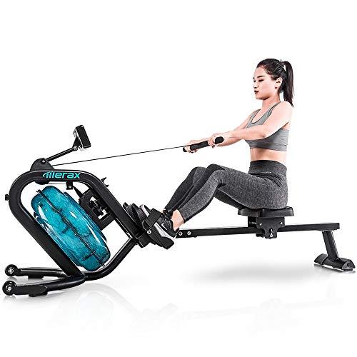 Merax Water Rowing Machine – Fitness Indoor...