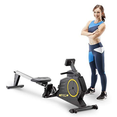 Circuit Fitness Deluxe Foldable Magnetic Rowing...