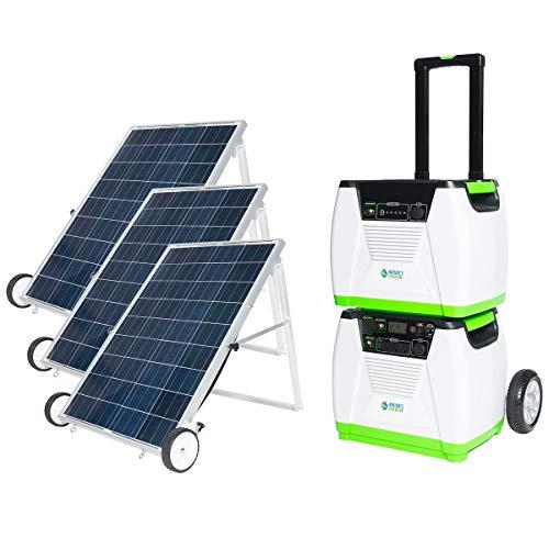 Nature's Generator 1800W Solar Powered Generator,...